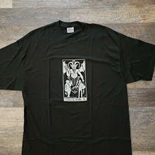 Tenacious D Jack черная полосатая рубашка Rare Dave Grohl новая футболка