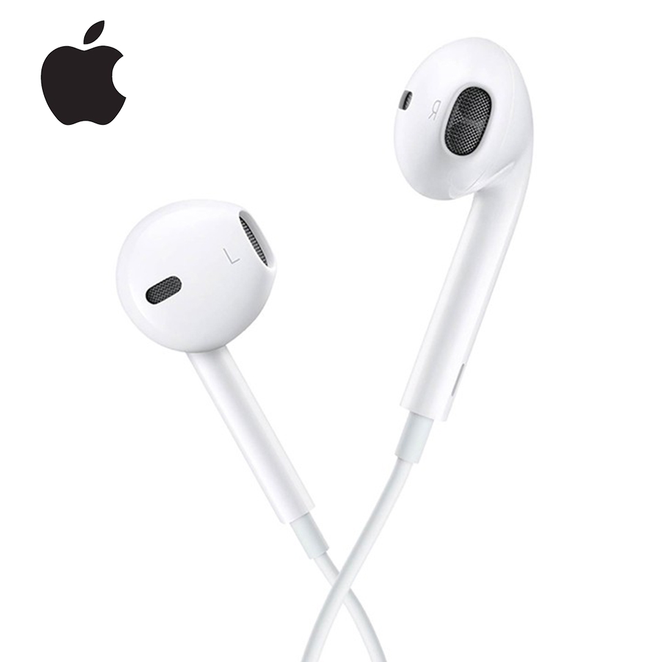 H78e9f91efe3346d0a4107e8940a46e6eV Apple Earpods With 3.5mm Plug & Lightning In-ear Earphones
