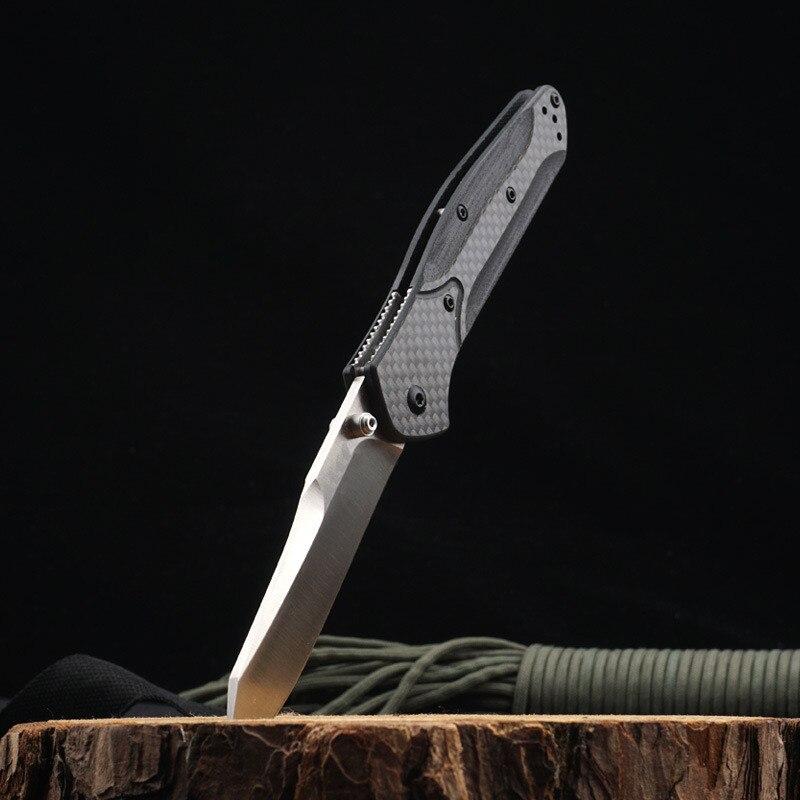 OEM 940 EDC Folding knife Mark S30V Blade Survival Tactical Outdoor Pocket Knives Rescue Carbon Fiber Handle Kitchen Tool Knife