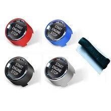 Kristall Start Stop Motor Schalter Taste für BMW 1 2 3 4 5 6 7 X1 X5 X6 F22 F30 f10 F32 F01 F15 G30 G31 G11 G12 G01