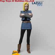 1/6 Scale PVC Action Figure Dragonball Android 18 LAZULI TY-007 Anime Naruto 12 Doll Movable Model for Fans Collection Gifts