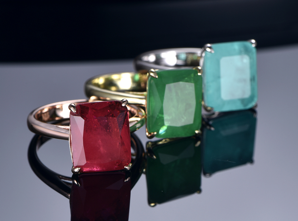 H86ada90c5e78401a9af9ed0cd785711dD TKJ Real 925 Silver Ring Square Ruby and Emerald Ring Wedding Engagement Rings For Women Fine Jewelry Accessories Gifts