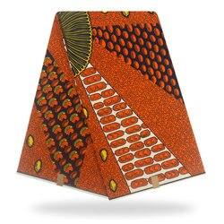 חדש 100% כותנה מקורי הדפסה אמיתית שעוות אנקרה בד 2019 אפריקאים בד לחתונה שמלת חומר אפריקאי בד שעווה