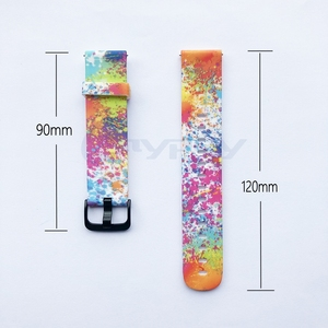 Image 5 - 4in1 For Amazfit Bip Strap 20mm Watch Band Camouflage Silicone Bracelet For Xiaomi Amazfit Bip Bit Youth Case Cover Accessories