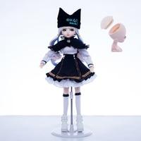 1/4 BJD 45 CM doll head open replaceable wig eyes