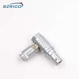 Image 2 - M12 fhg.1b. 307. clad62z conector automotivo eletrônico do cabo macho da tomada do cotovelo de 7 pinos