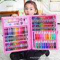 Color crayon watercolor pen set children's painting brush oil stick painting set 12 colors 24 colors 36 colors