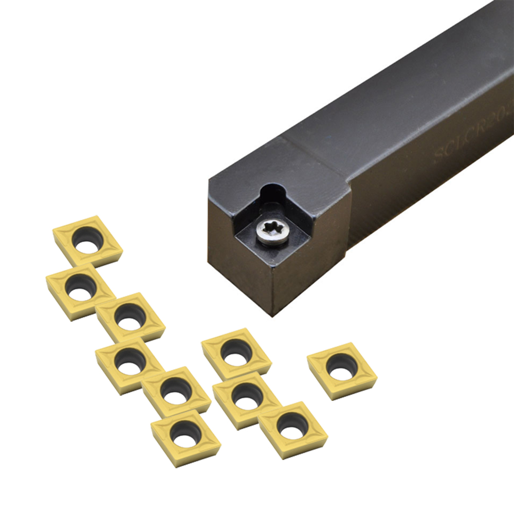1PCS SCLCR2020K09 20mm*125mm lathe External Turning Tool Holder For CCMT09T304