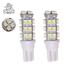 купить 2 Pcs T10 12V LED AUTO 1210 W5W 194 168 6000K Car Clearance Side Wedge lamps t10 28SMD led Tail White Light Bulbs дешево