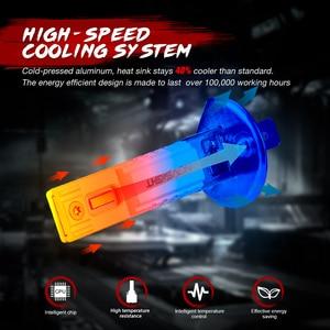 Image 4 - NOVSIGHT llevó la lámpara de niebla H11 H8 H9 H7 H3 H1 bombillas de luz antiniebla coche faro 9005 HB3 9006 HB4 2000LM 6000K 60W faro 2 uds