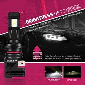 Image 2 - Novsight Super Mini H7 Led H4 Auto Koplampen H11 H8 H9 H16JP 9005 9006 H1 H3 55W 12000LM 6000K 12V Auto Koplamp