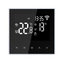 Wifi Slimme Thermostaat Temperatuurregelaar Vloerverwarming Vloerverwarming App Controle Programmeerbare Wifi Thermostaat 16A Ac 100-250V