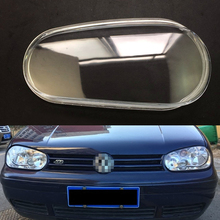Headlamp Cover For Volkswagen VW Golf 4 2002 2003 2004 2005 2006 2007  Car Headlight Headlamp Clear Lens Auto Shell Cover