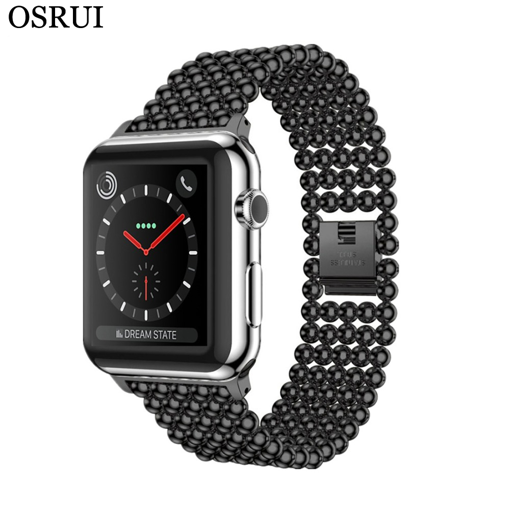 Stainless Steel Strap For Apple Watch Band 42mm 38mm 44mm/40mm Apple Watch 5 4 3 2 Band Iwatch Band Link Bracelet Watchband