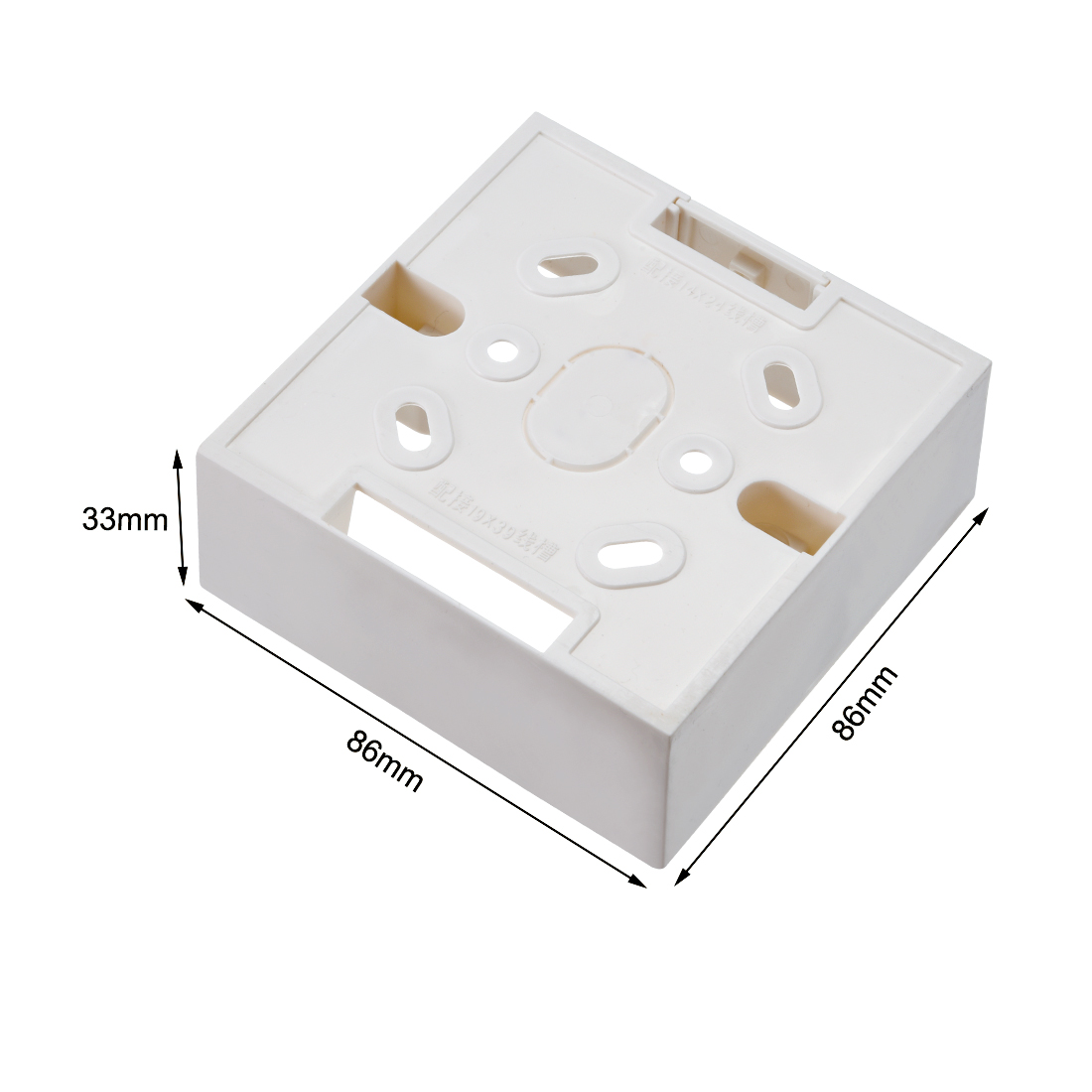 42 1pcs 87 uxcell/® Wall Switch Box Deep Case Recessed Mount 86 Type Single Gang White 87