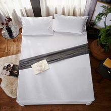 160X200cm 100 Waterproof Mattress Cover White Cotton Terry Cloth Mattress Protector Bed Bug Proof Dust Mite