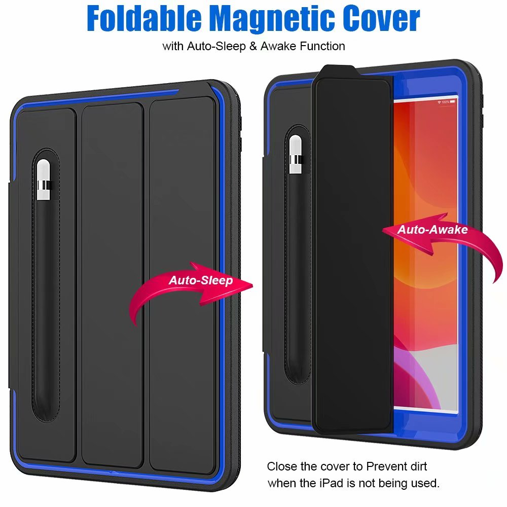 smart Kickstand Armor Shockproof 2019 iPad For generation ipad For Case 10.2 7th case