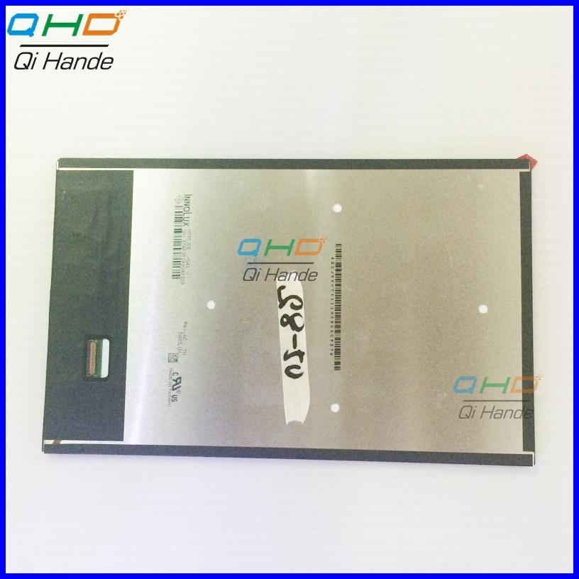 Naujas INNOLUX 8 colių TFT skystųjų kristalų ekranas N080JCE-G41 D N080JCE, skirtas planšetinio kompiuterio ekranui 800 (RGB) * 1280 WXGA, nemokamas pristatymas