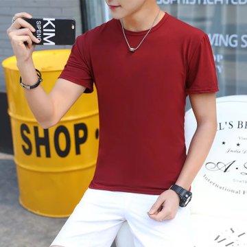 Модная футболка в стиле хип-хоп, Мужская футболка, новинка, Мужская хлопковая футболка с коротким рукавом и круглым вырезом, высокое