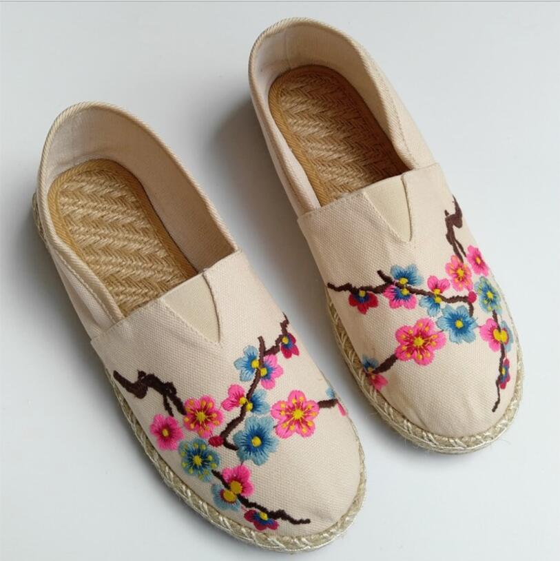Zapatos de tela Bordado de dragón estilo chino diseño de dragón zapatos de tacón bajo étnico placa hebilla lona etapa zapatos de tela de baile Zapatos de mujer de diseñador, zapatillas antideslizantes, zapatillas informales de tacón bajo, zapatos de tacón británico de madera, zapatos de tacón de verano