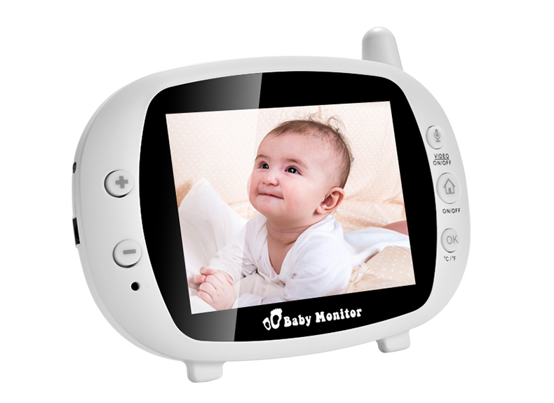 3 inch Baby Monitor With Security Night Vision Camera And a Voice Call For child Security 26
