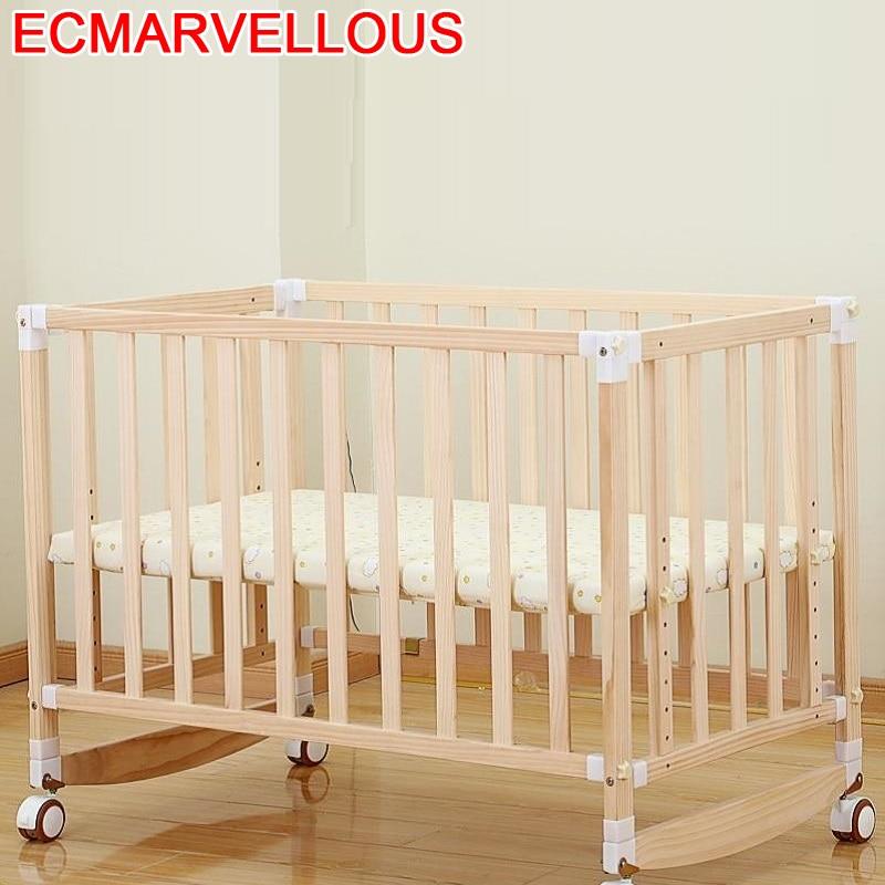 Lozko Dla Dziecka Cama Individual Toddler Lozeczko Dzieciece Baby Furniture Wooden Children Lit Enfant Kinderbett Kid Bed