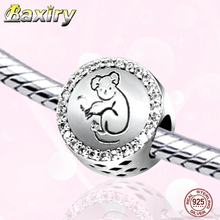 Fine Charm Beads Princess-cut New Fashion Trend Fit DIY Bracelet Charms Silver 925 Original Nuevos 2019 Beads For Jewelry Making