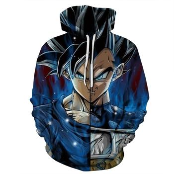 8 Style New Fashion Women Men Hoodies 3D Printed Dragon Ball Z Hoodie Anime Sweatshirt Long Sleeve Goku Hooded Sports Sweater hot sale anime dragon ball z pocket hooded sweatshirts kid goku 3d hoodies pullovers men women long sleeve outerwear hoodie