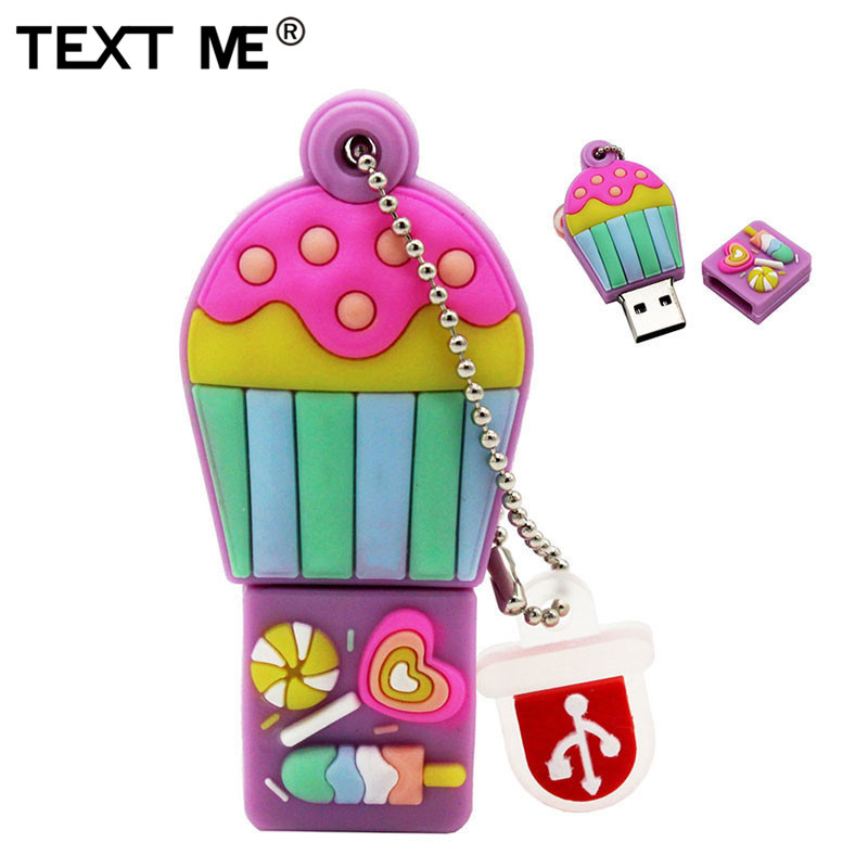 TEXT ME  Cartoon New Mode Hot Air Balll Usb2.0 4GB 8GB 16GB 32GB 64GB Pen Drive USB Flash Drive