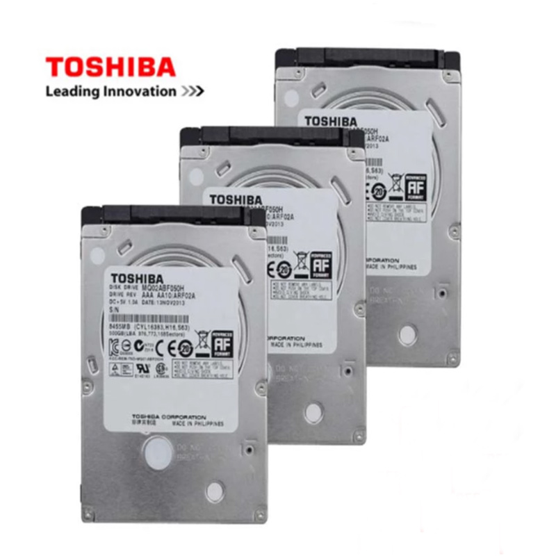 """Toshiba 2.5 """"disco rígido interno 500 disco rígido 1t 2t disco rígido duro interno de sata hdd hd 4tb 2 1tb 320gb 2.5 gb para notebook"""