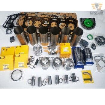 C7.1 engine rebuild kit Piston ring cylinder liner gasket bearing for Caterpillar 320D2 excavator C7