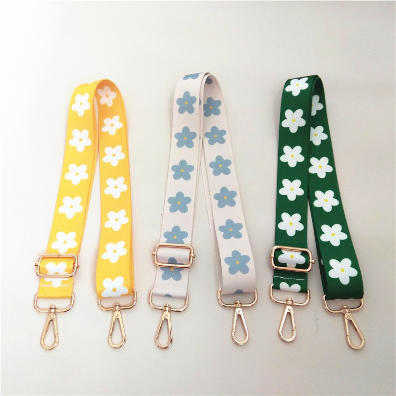 Colorful Women Shoulder Bag Strap for Cross body Rainbow Bag Accessories Nylon O Bag Belt Handle Handbag Straps Adjustable New
