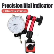 Cadran indicateur support magnétique cadran jauge support magnétique Base micromètre outil de mesure Type d'heure indicateur outils de mesure