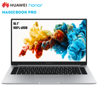 Original HUAWEI Honor MagicBook Pro Laptop Windows 10 16.1 inch Notebook Intel Core i5 8265U 3.9GHz 8GB DDR4 RAM 512GB SSD