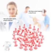 50 pcs/paquet Impression dynamique dentaire conseils de mélange tête en caoutchouc de silicone de dentiste pour la Machine de Type Pentamix d'espe pour le soin des dents