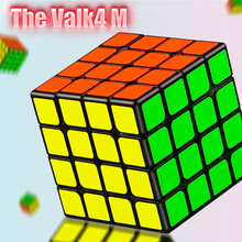 New QiYi valk 4M 4x4x4 Magnetic Magic Speed Cube Professional Valk 4 M Magnets Puzzle Cubes Valk4 M Cubo Magico 4x4 Stickerless цена