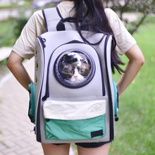 Cat Backpack  Pet Outdoor Travel Dog Foldable Exercise Play Indoor Bag Classics Breathable