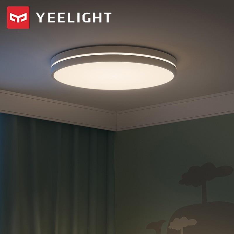 YEELIGHT Aurora Smart Ceiling Light LED Lamp Home Indoor Lighting Ra95 Adjustable APP Voice Remote Control For Bedroom 24W 50W