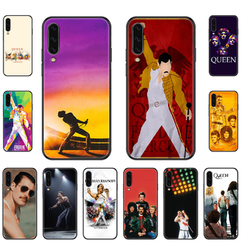 Queen Band Phone case For Samsung Galaxy A 3 5 8 9 10 20 30 40 50 70 E S Plus 2016 2017 2018 2019 black art prime luxury image