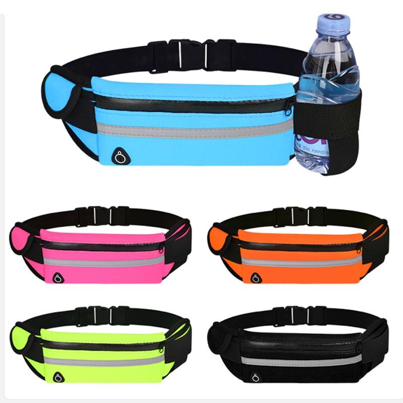 Поясная Сумка YUYU, сумка на пояс для бега, поясная сумка, спортивная Портативная сумка для тренажерного зала, сумка для телефона для воды и ве...