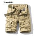 2021 новые летние брюки карго шорты Для мужчин камуфляж 100% хлопка цвета хаки брюки для девочек свободные брюки карго шорты Для мужчин Повседн...