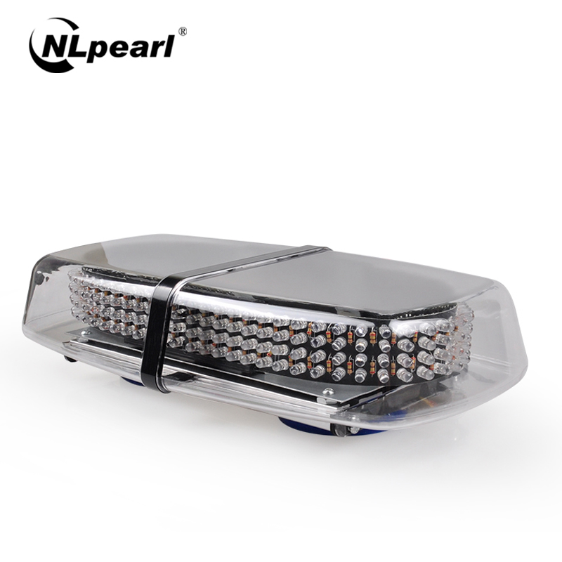 Nlpearl voiture lumière assemblée lumière stroboscopique barre de LED pour voitures 240LED rouge bleu Police lumières clignotant avertissement feux de secours 12V 24V