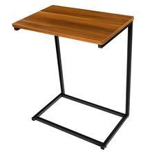 HOMEMAXS 1 pieza sofá mesa lateral Vintage práctico puesto de aperitivos C Mesa soporte libro mesa auxiliar para sala de estar cama 66x55x36cm