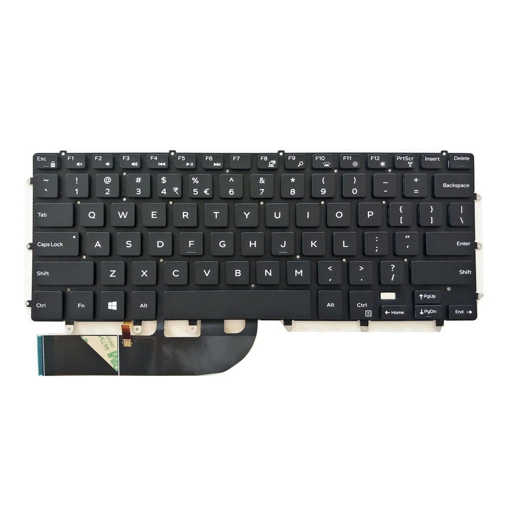 Backlit CF Canadian US laptop <font><b>keyboard</b></font> for <font><b>DELL</b></font> <font><b>5510</b></font> M5510 XPS 15-9550-D1728 15-9550 15-7558 9560 7568 0F6N3V PK131BG1A01 image