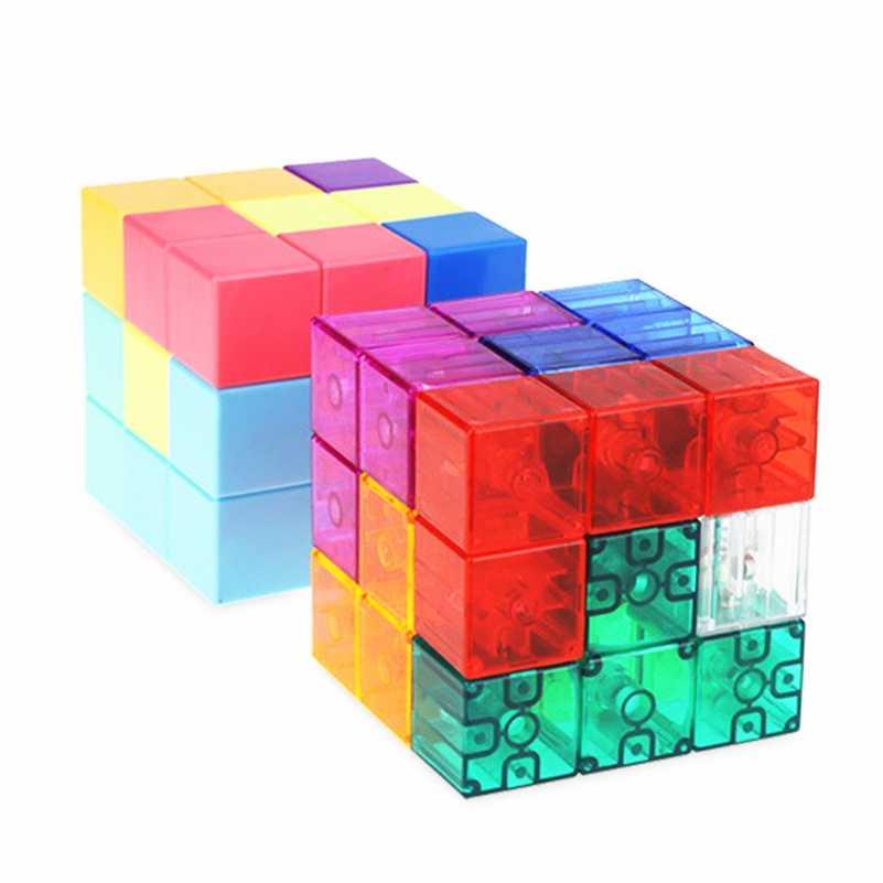 Classic Magic Cube 5.7cm Kids Twist Puzzle Intelligence Development Toy Gift