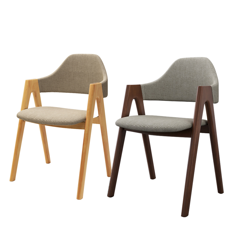 Simple Student Writing Chair Study Solid Wood Chair Coffee Chair Office Chair Table Chair Dining Chair Modern Simple Home