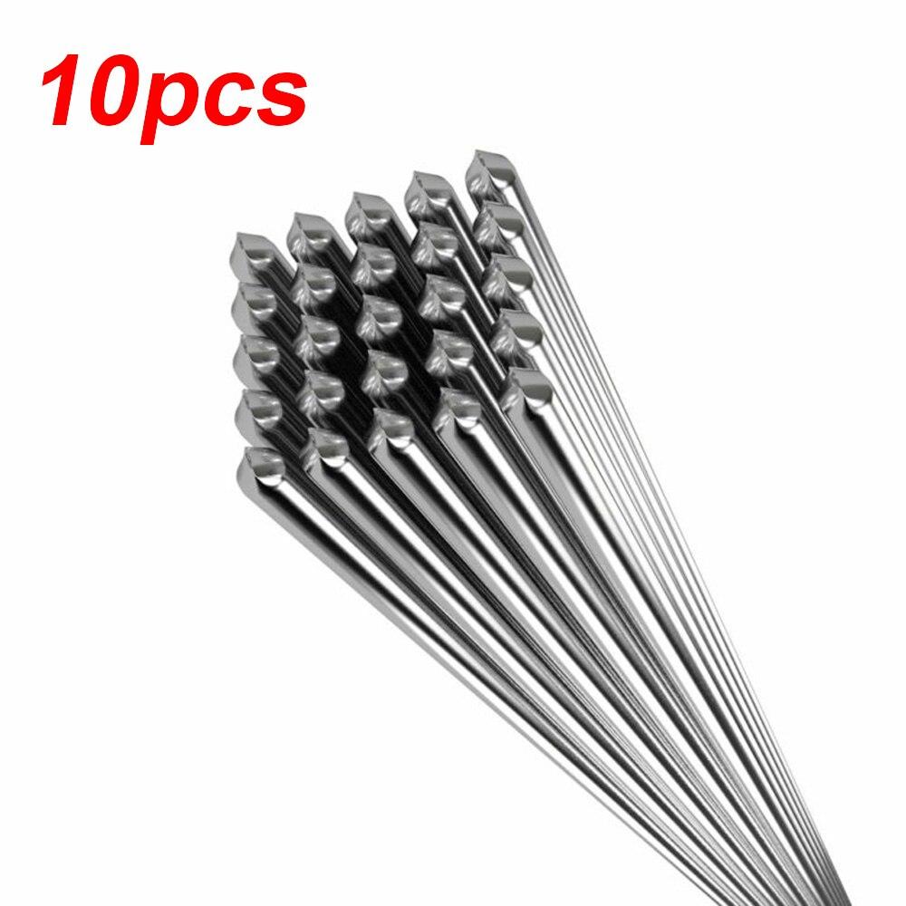 10 шт. 1,6 мм алюминиевые сварочные стержни низкой температуры пайки легкий инструмент 50 см