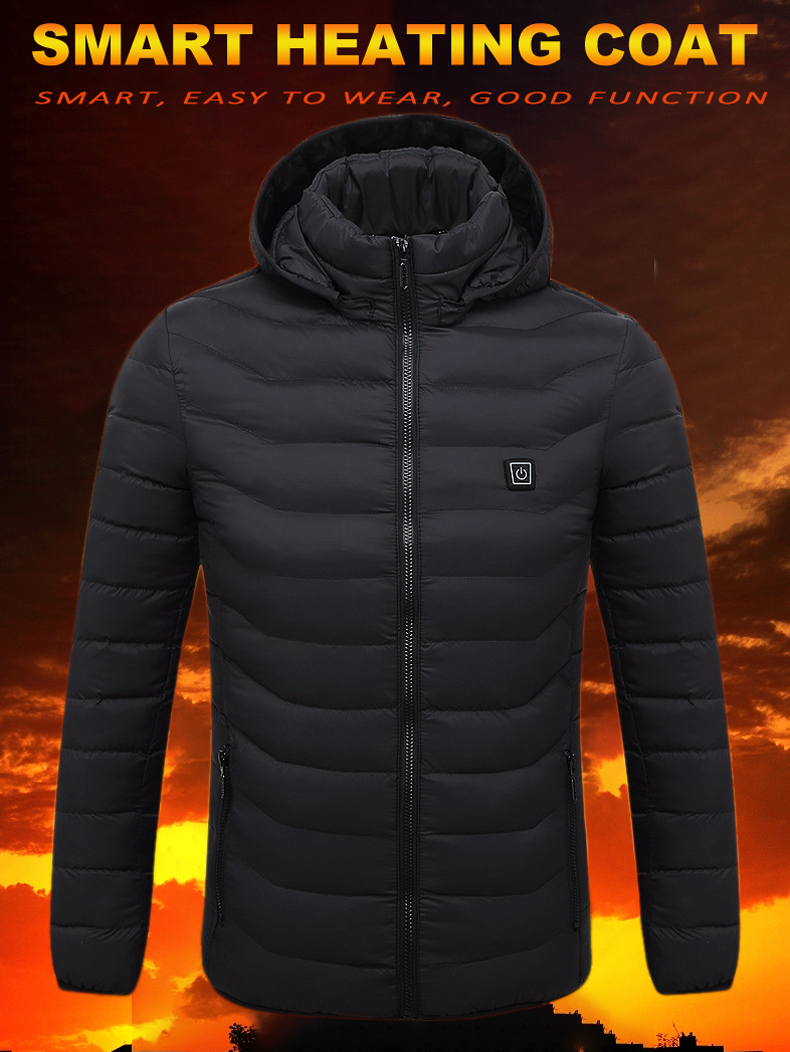 2021 novo inverno jaquetas de aquecimento das
