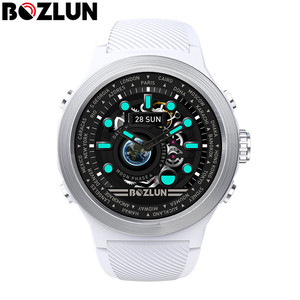 Image 2 - Bozlun W31 1.44 inch Full Screen Men Smart Watch Men Heart Rate Monitor IP68 Waterproof Smartwatch For android ios Phone