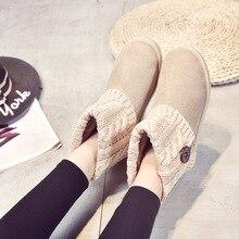 FEVRAL 2021ใหม่ผู้หญิงข้อเท้ารองเท้าแฟชั่นSlip Onเซ็กซี่สบายผู้หญิงแบนรองเท้าสบายๆฤดูหนาวรองเท้าอุ่นขนาด35 40